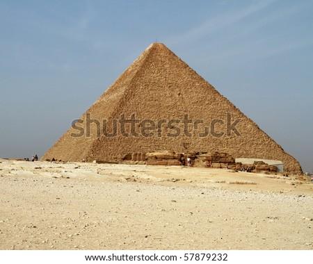 Great pyramid of Giza - Egypt - stock photo