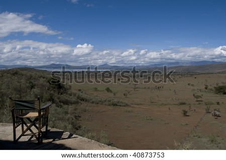 Great Rift Valley, Kenya - stock photo