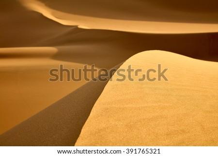 Great Sand Dunes  - stock photo