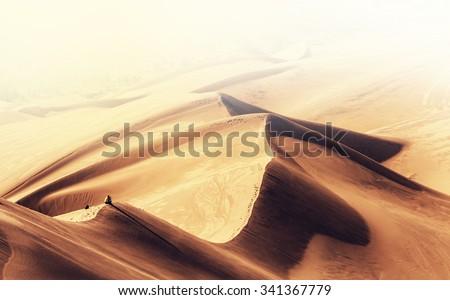 Great Sand Dunes National Park, Colorado, USA - stock photo