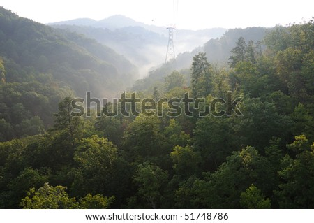 Great Smoky Mountains at Sunset