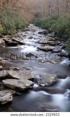 Great Smoky Mountains National Park - stock photo