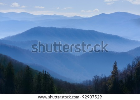 Great Smoky Mountains National Park - stock photo