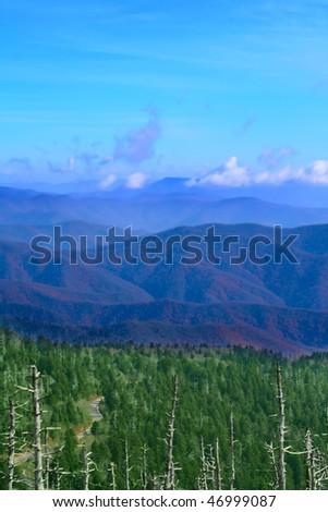 Great Smoky Mountains, USA - stock photo