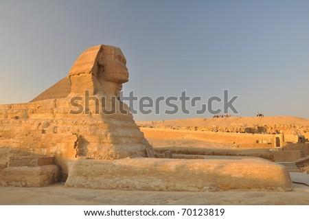 Great Sphinx of Giza - stock photo