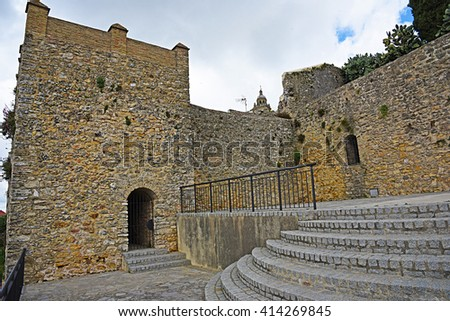 Great Stables of the Duque, Medina Sidonia, Cadiz - stock photo