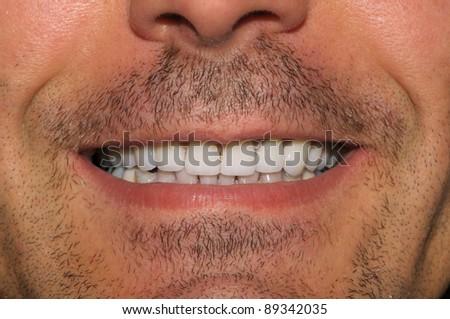 Great teeth - stock photo