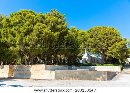 Greece, Chania, Crete.Traditional pictorial street - stock photo