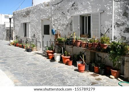 Greece, Island of Kos, Kos Town - stock photo