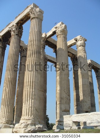 Greece Temple of Zeus