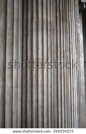 Greek columns' texture - stock photo