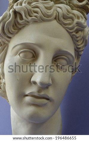 Greek God of Light Apollo - stock photo