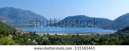 Greek Harbor Panorama