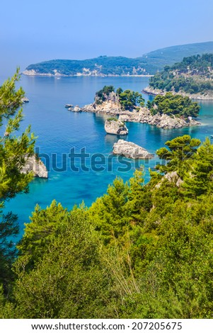 Greek islands - stock photo
