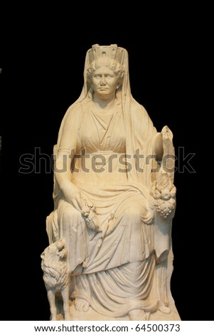 Greek Mythical sculpture - stock photo