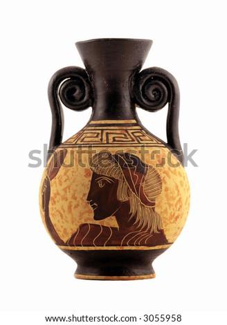 greek vase - stock photo