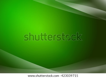 Green abstract background. - stock photo