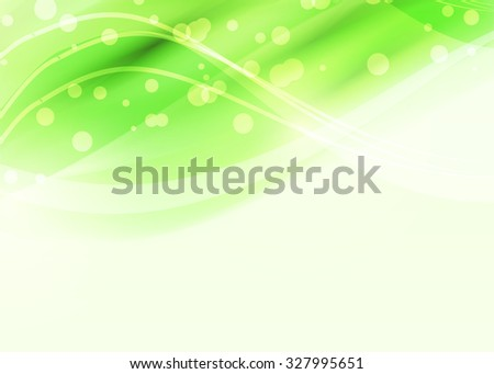 Green abstract background. Template for web, site or banner. Color illustration.