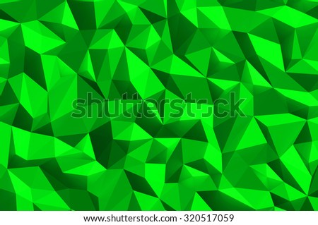 Green abstract background texture - stock photo