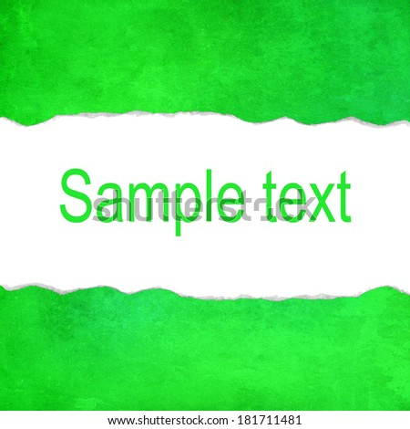 Green abstract background with space for text