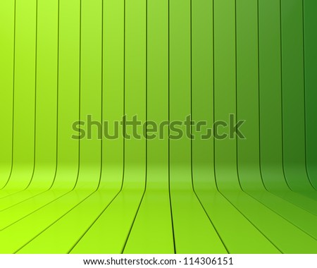 green abstract stripe background - stock photo