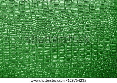 Green alligator patterned background - stock photo