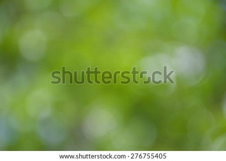 Green and blue summer bokeh for background - stock photo
