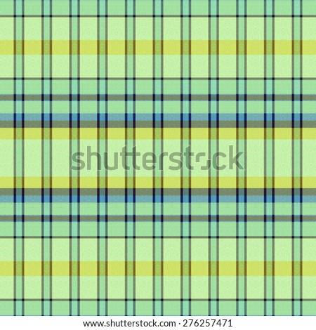 green and blue Tartan textile seamless background  - stock photo