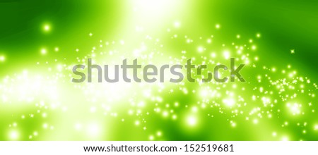 green and fresh background with some soft glow on it - stock photo