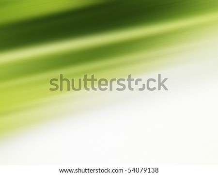 Green and white empty background. Abstract illustration