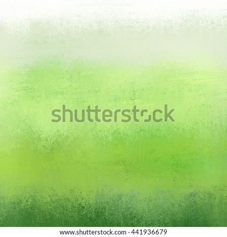 green and white gradient background color with grunge texture - stock photo