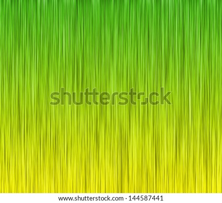 Green and yellow (Brazil colors) abstract background. - stock photo