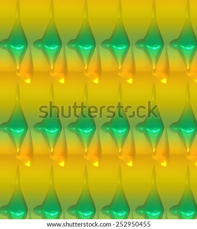 Green and yellow glowing abstract background in unique pattern. A modern digital art backdrop or wallpaper in an original texture for use in web site work or any art and design project. - stock photo