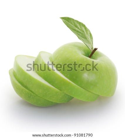 green appl - stock photo