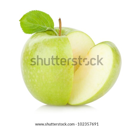 green apple - stock photo