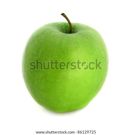 Green apple - stock photo