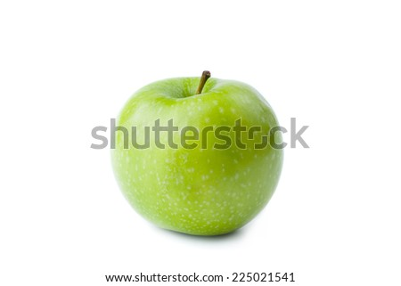 Green Apple - Clipping Path Inside - stock photo