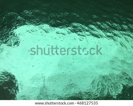 Green aquatic background