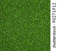 Green artificial turf pattern - stock photo