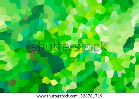 green background. - stock photo