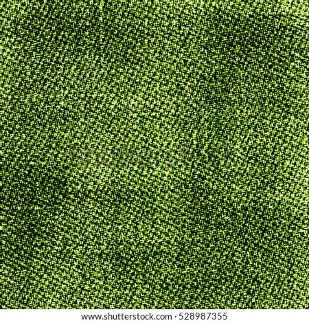 green background based on fabric texture