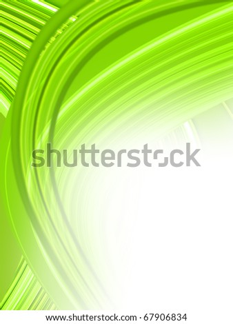 Green background illustration with high detail. - stock photo