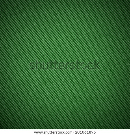 Green background with diagonal striped pattern  - stock photo