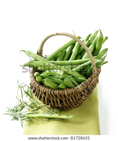 Green bean - stock photo