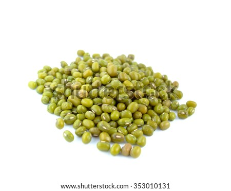 Green bean or mung bean   - stock photo