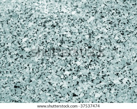Green, black and white speckled background made from a section of marble - stock photo