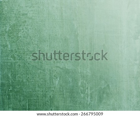 Green blackboard texture background with light source from upper right hand corner  - stock photo