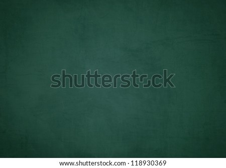 Green blank chalkboard for background