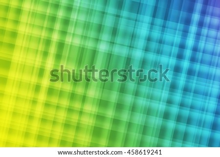 Green, blue and yellow colors used to create abstract background  - stock photo