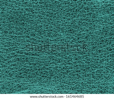 green-blue leather texture as background